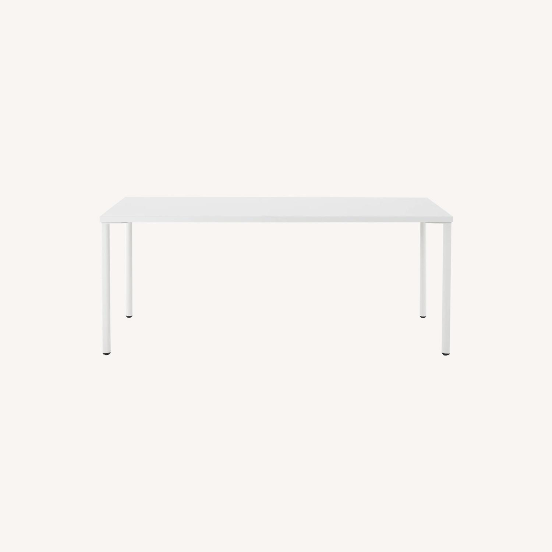 Herman Miller White OE1 Desk Table - image-5