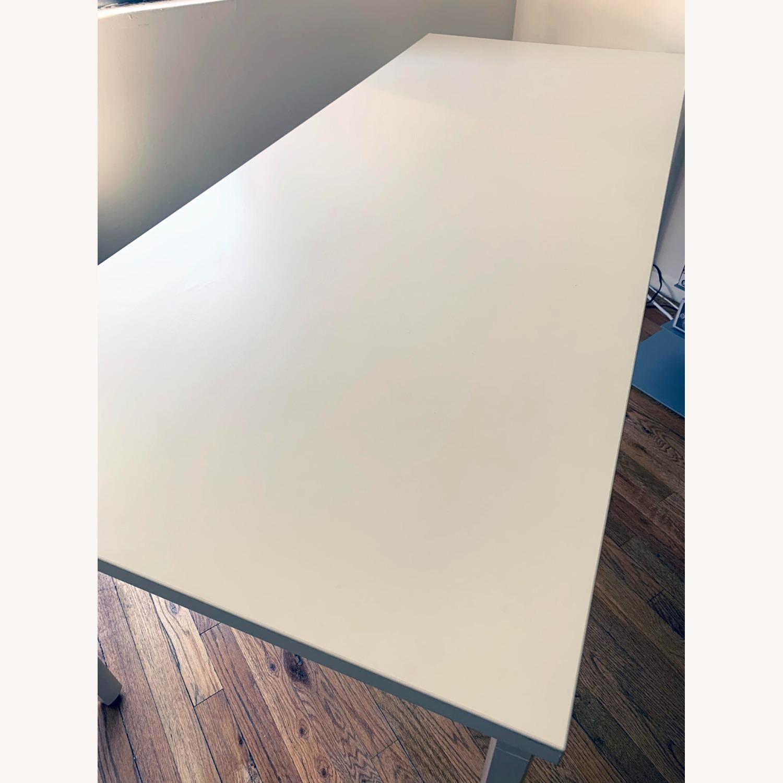 Herman Miller White OE1 Desk Table - image-7