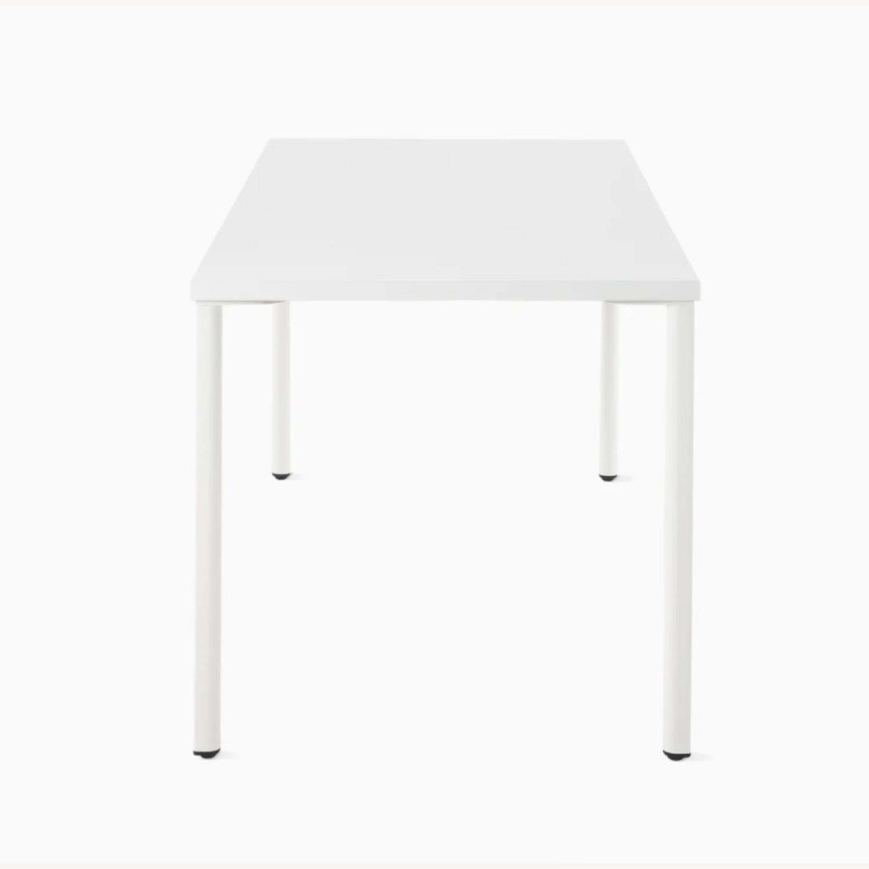 Herman Miller White OE1 Desk Table - image-3