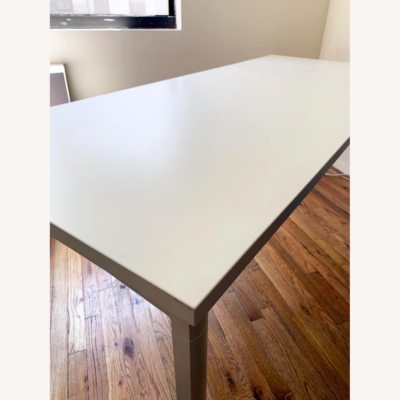 Herman Miller White OE1 Desk Table - image-8