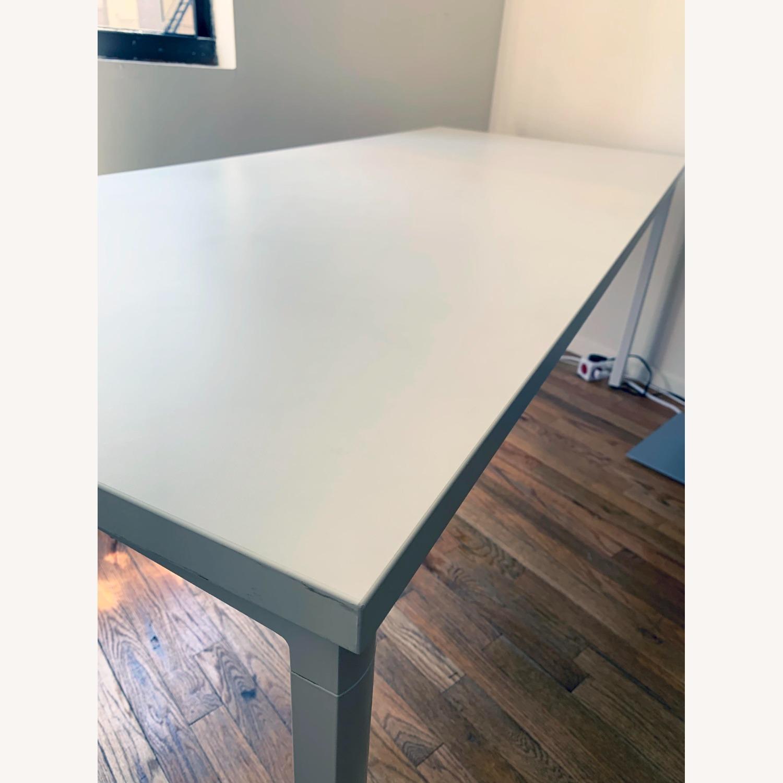 Herman Miller White OE1 Desk Table - image-6