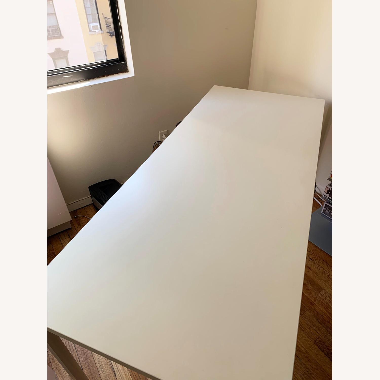 Herman Miller White OE1 Desk Table - image-9
