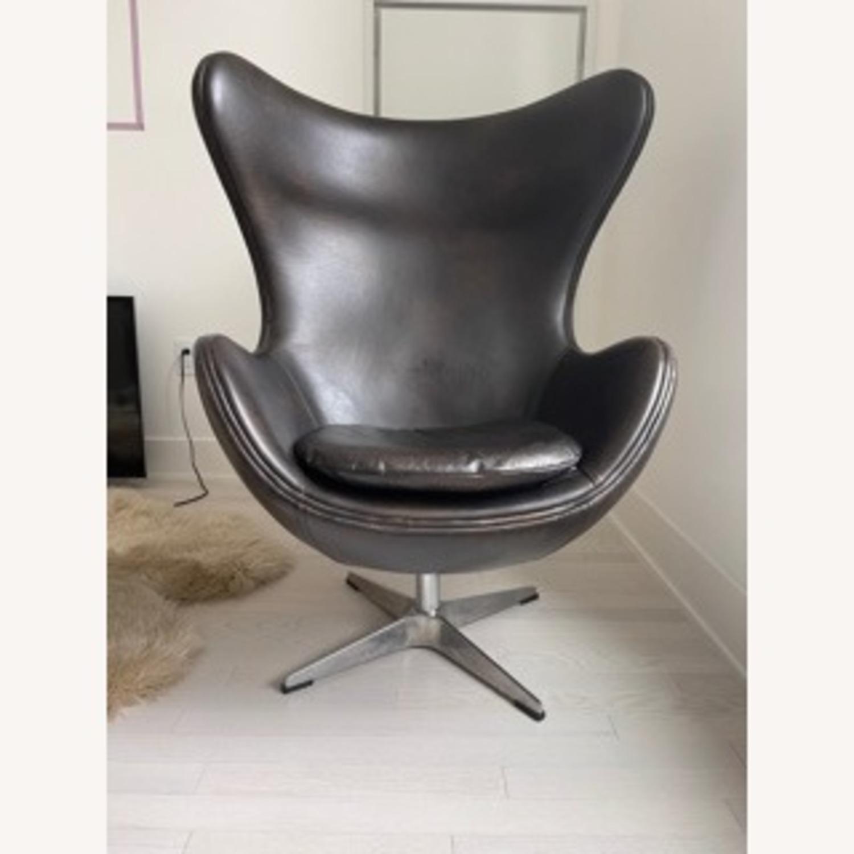 Restoration Hardware Egg Chair - image-2