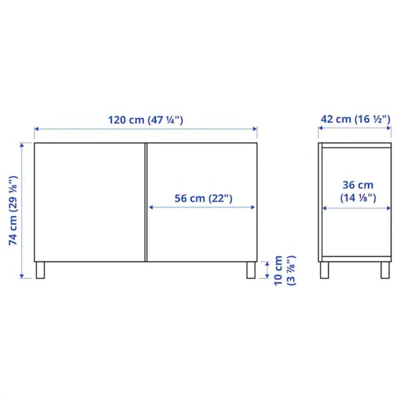 IKEA BESTA Storage Unit - image-10