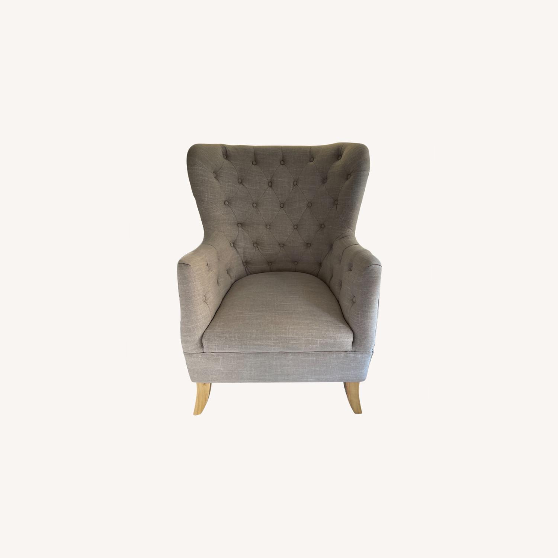 One Kings Lane Wingback Chair - image-0