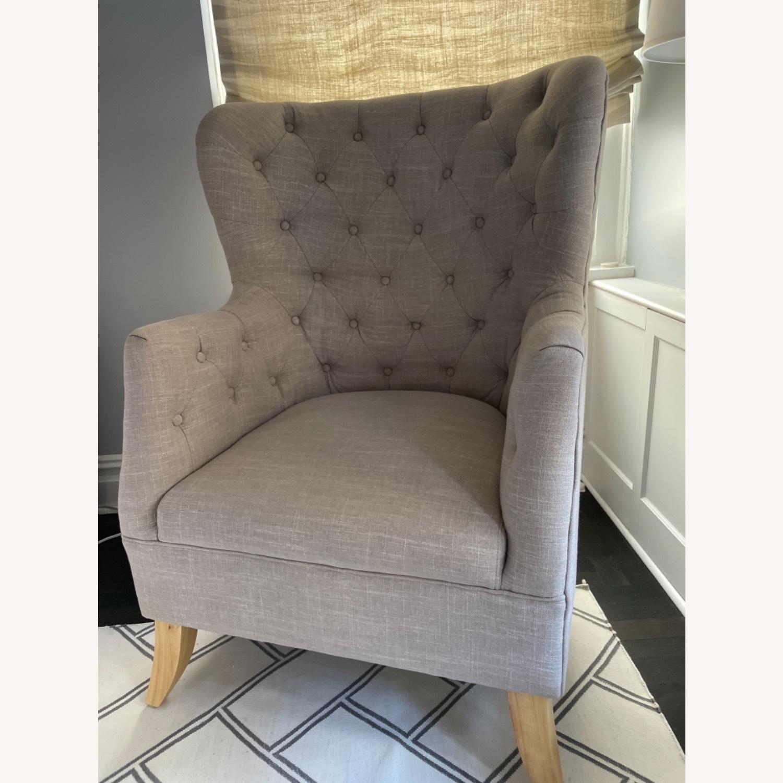 One Kings Lane Wingback Chair - image-1