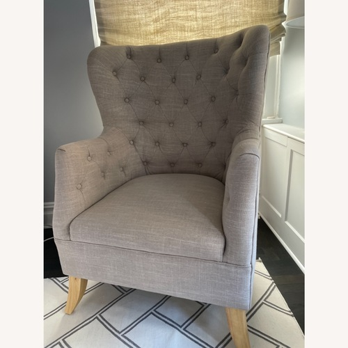 Used One Kings Lane Wingback Chair for sale on AptDeco