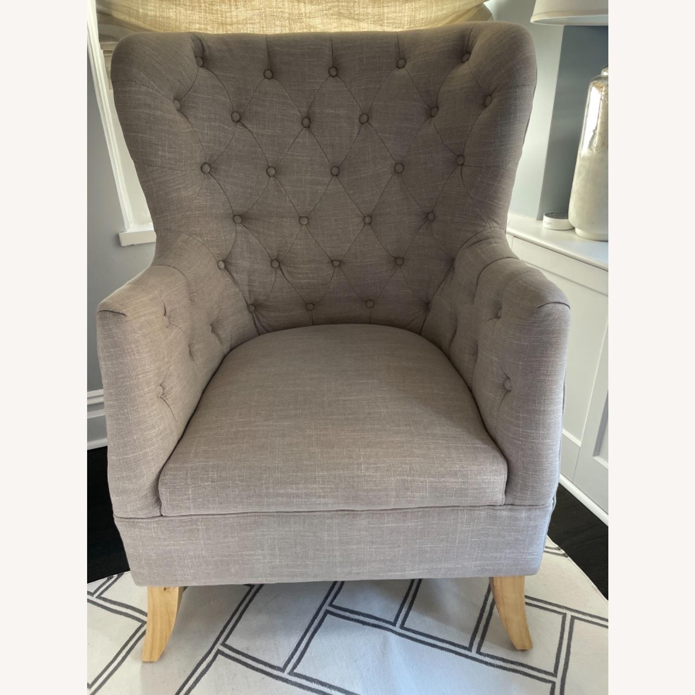 One Kings Lane Wingback Chair - image-2