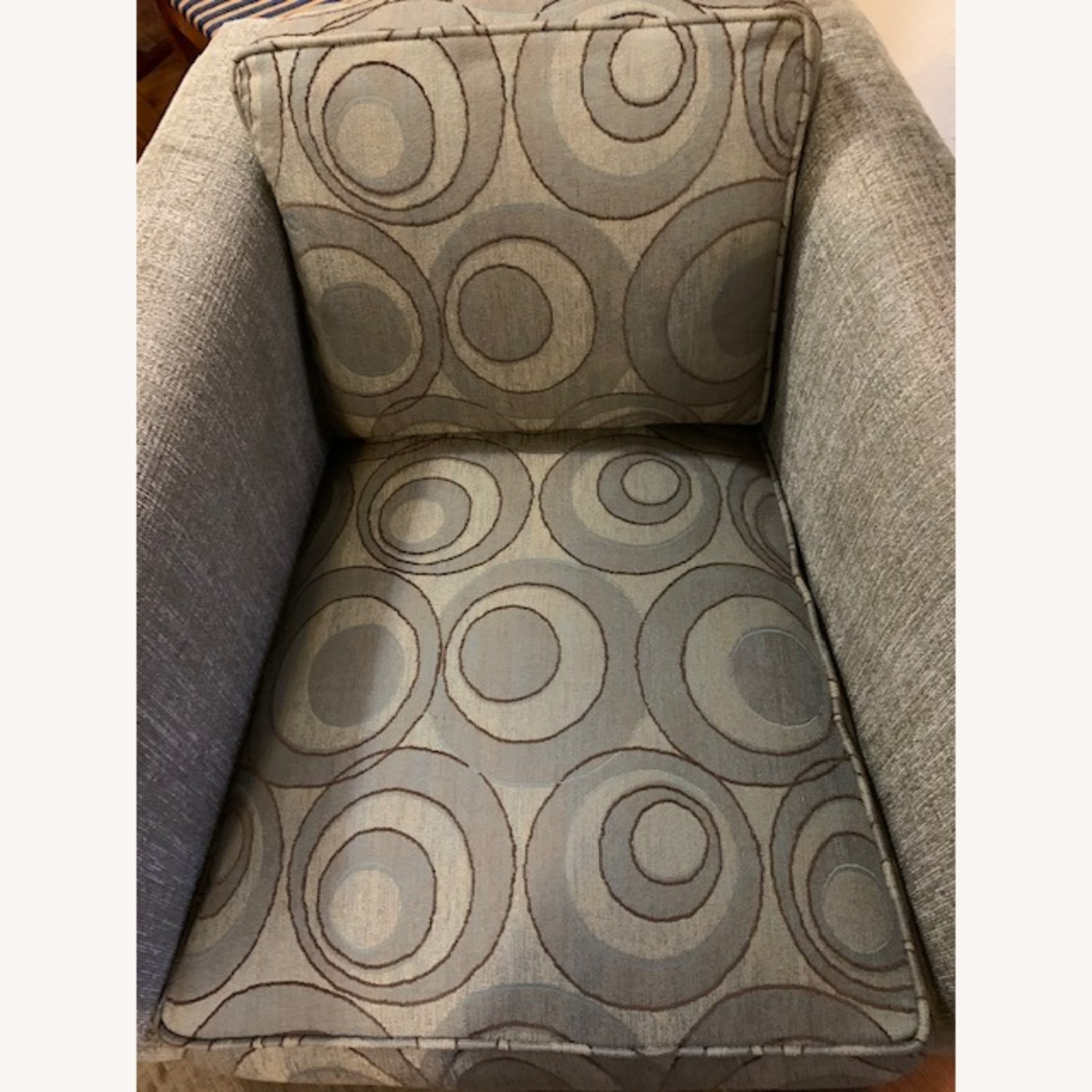 Thayer Coogin Swivel Chair Light Grey - image-6