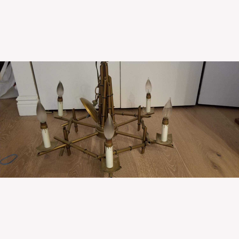 Gold Candlestick Chandelier - image-2