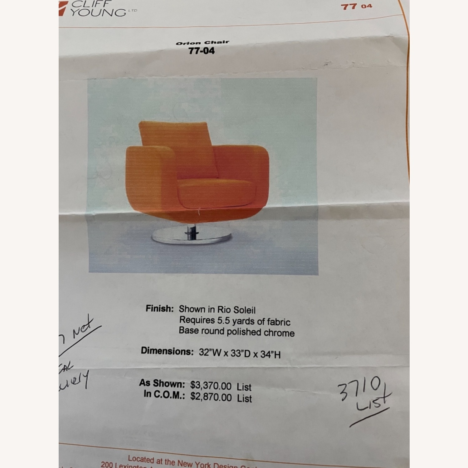Cliff Young Ltd. Orion Chair- Award-winning Design - image-3