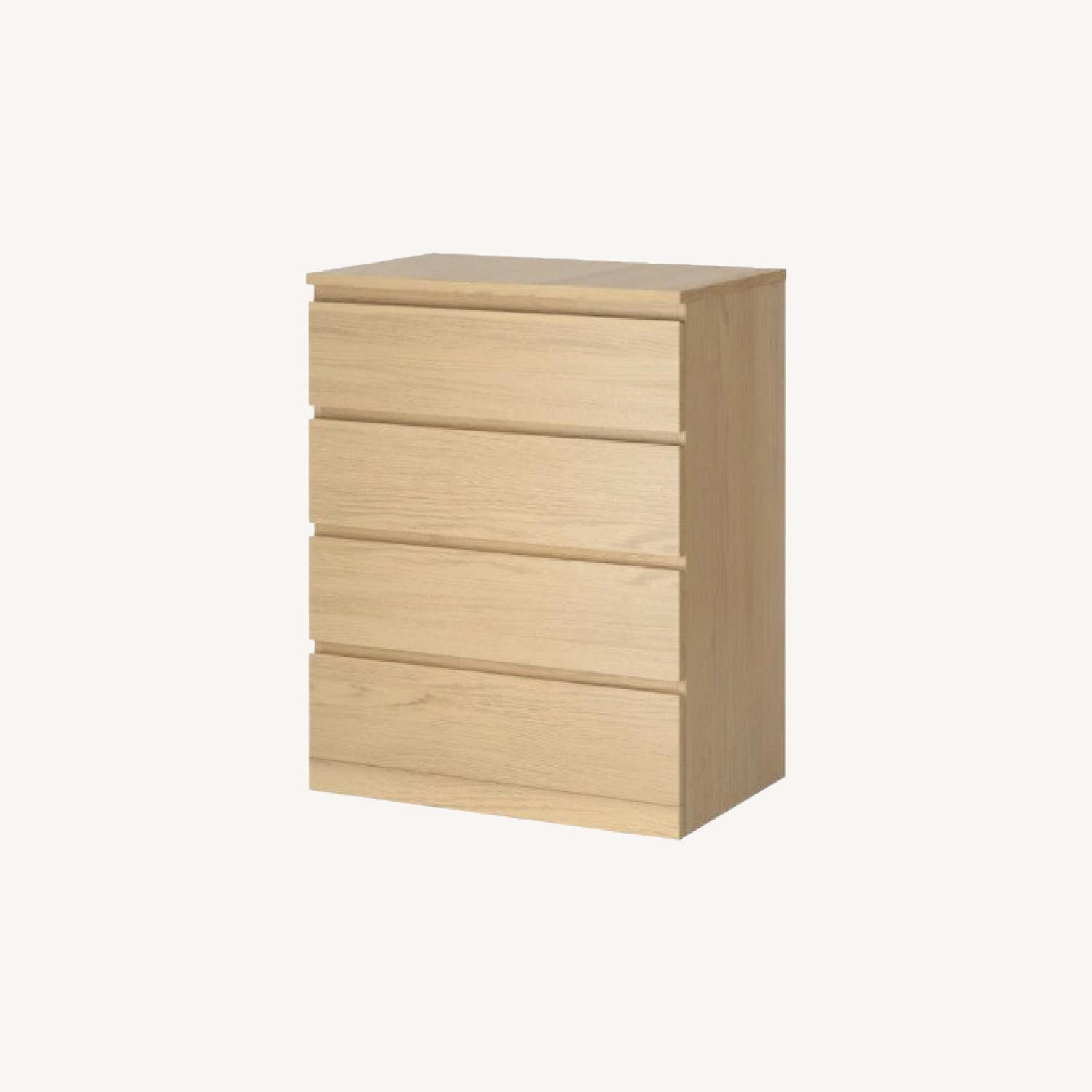 IKEA MALM 4-Drawer Chest - image-0