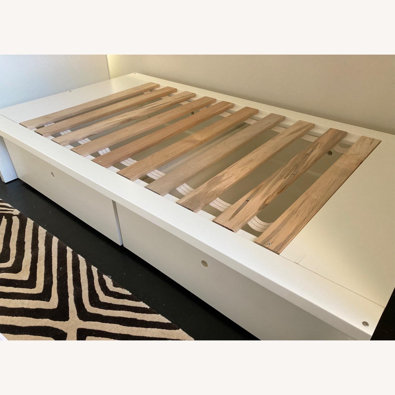 DucDuc Alex Symmetric Platform Twin Bed + Storage Drawers - image-3