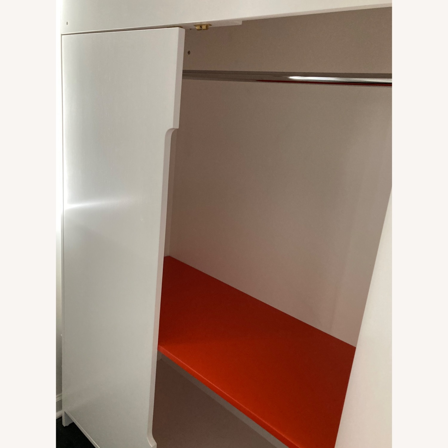DucDuc Alex Loft Bed with Armoire (Twin) Custom Painted - image-3
