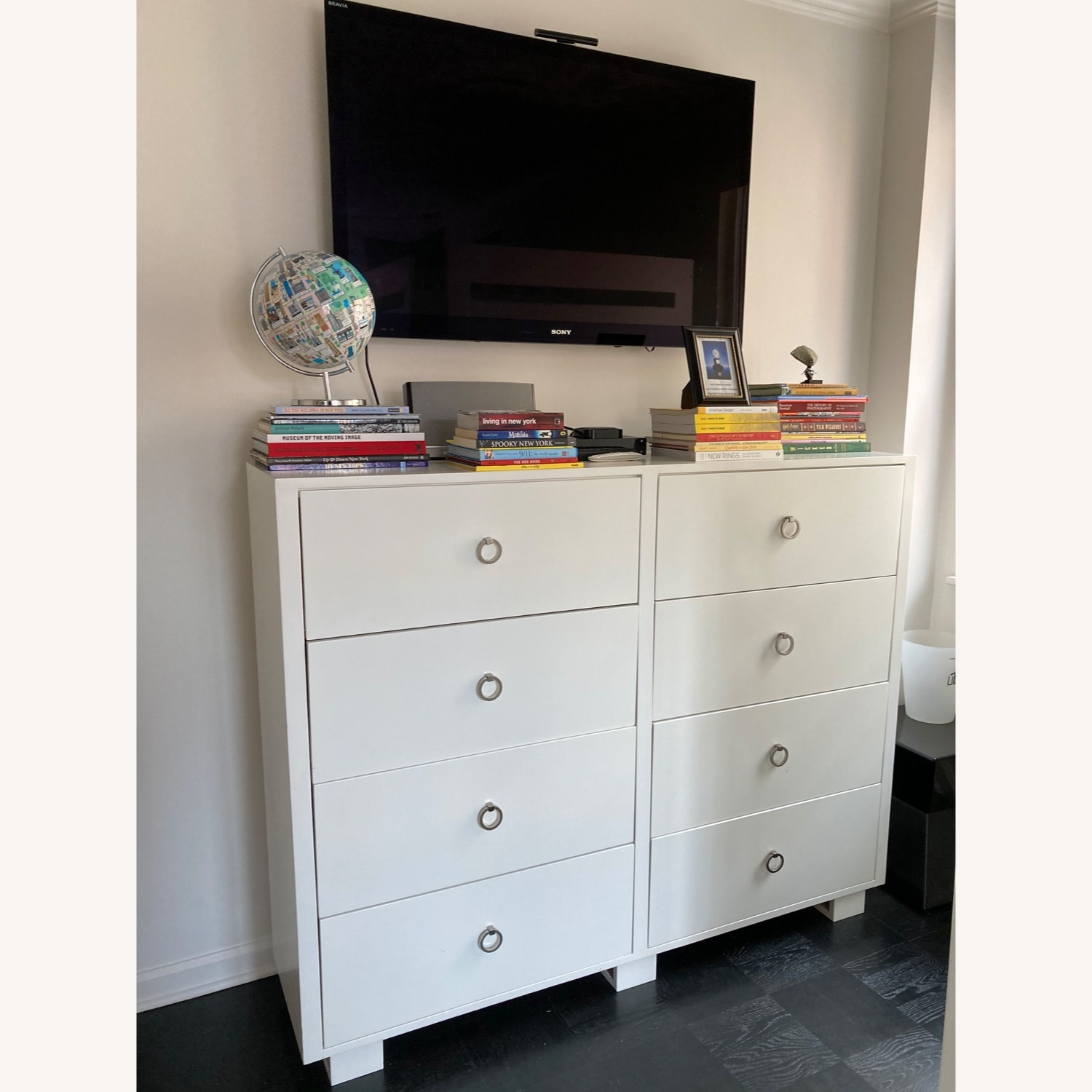 DucDuc Alex Loft Bed with Armoire (Twin) Custom Painted - image-9