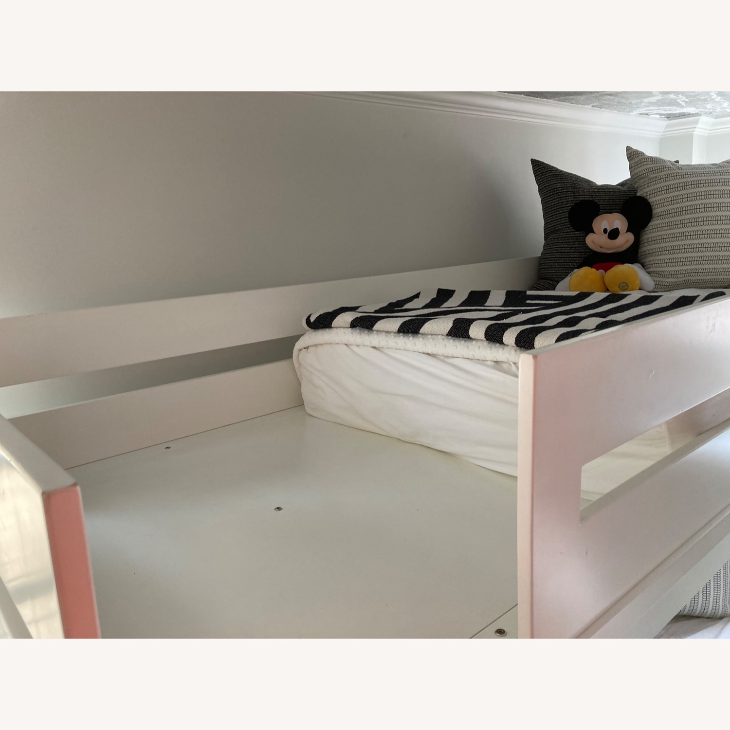 DucDuc Alex Loft Bed with Armoire (Twin) Custom Painted - image-10