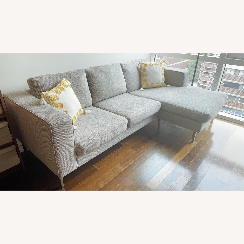 BoConcept Indivi Grey Sofa - image-1