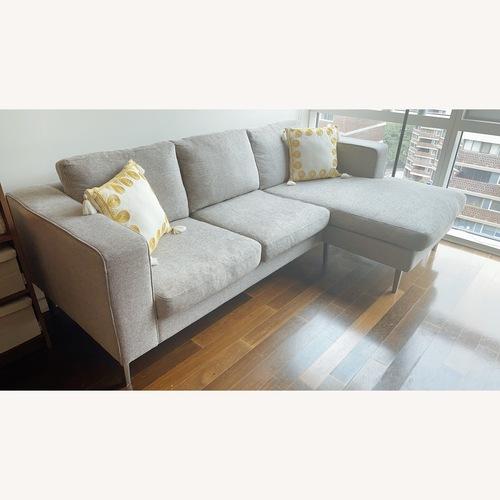 Used BoConcept Indivi Grey Sofa for sale on AptDeco