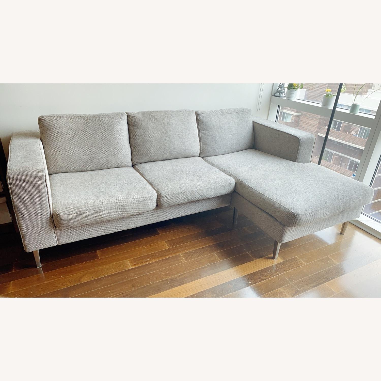 BoConcept Indivi Grey Sofa - image-2