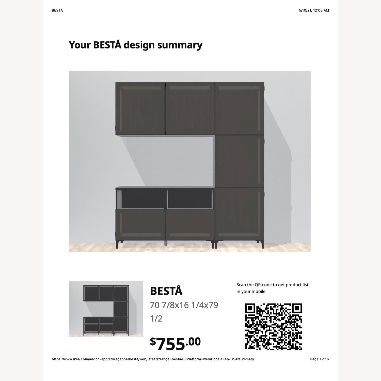 IKEA Entertainment Center Besta - image-2