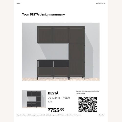 Used IKEA Entertainment Center Besta for sale on AptDeco