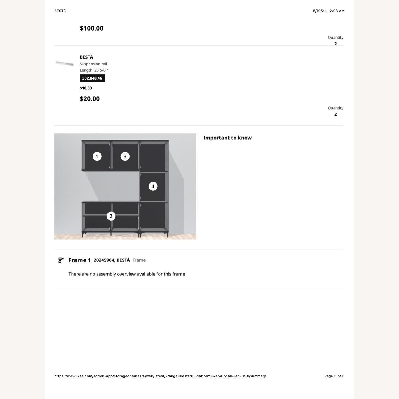 IKEA Entertainment Center Besta - image-4