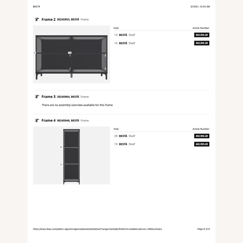 IKEA Entertainment Center Besta - image-5