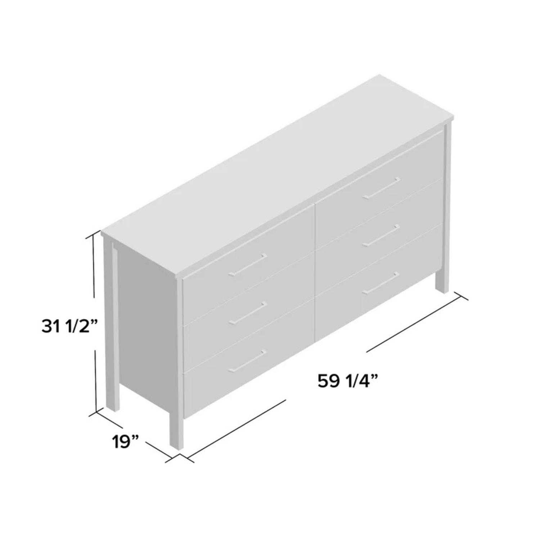 South Shore Furniture Grey Maple Dresser - image-3