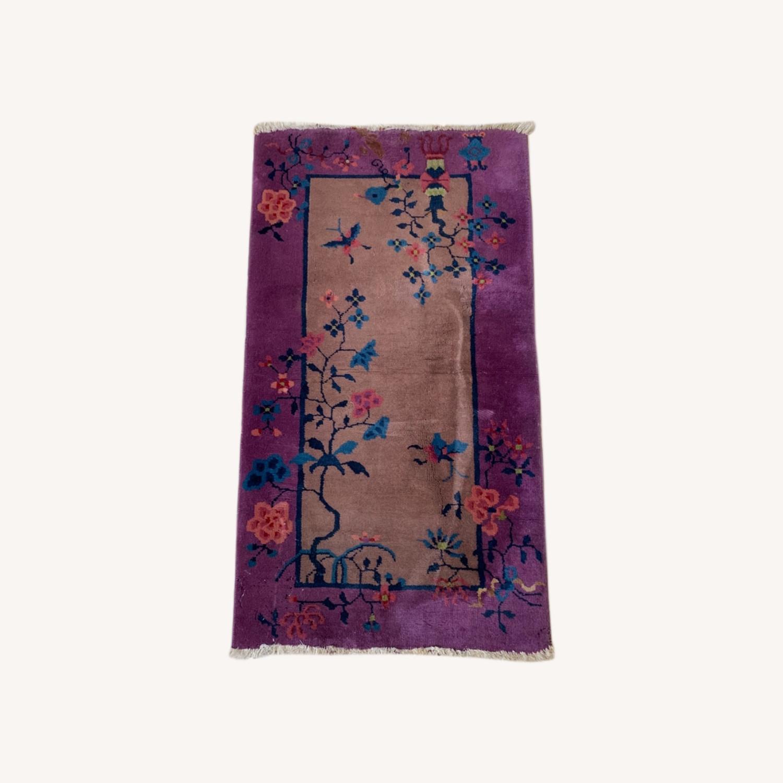 Art Deco Chinese Rug 2x4 - image-0