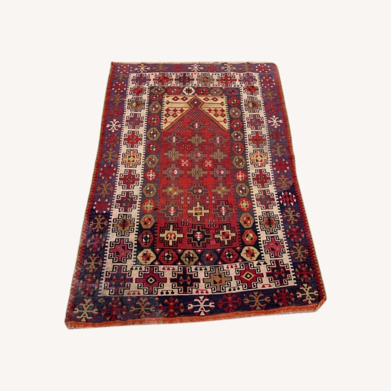 Prayer Turkish kilim - image-0