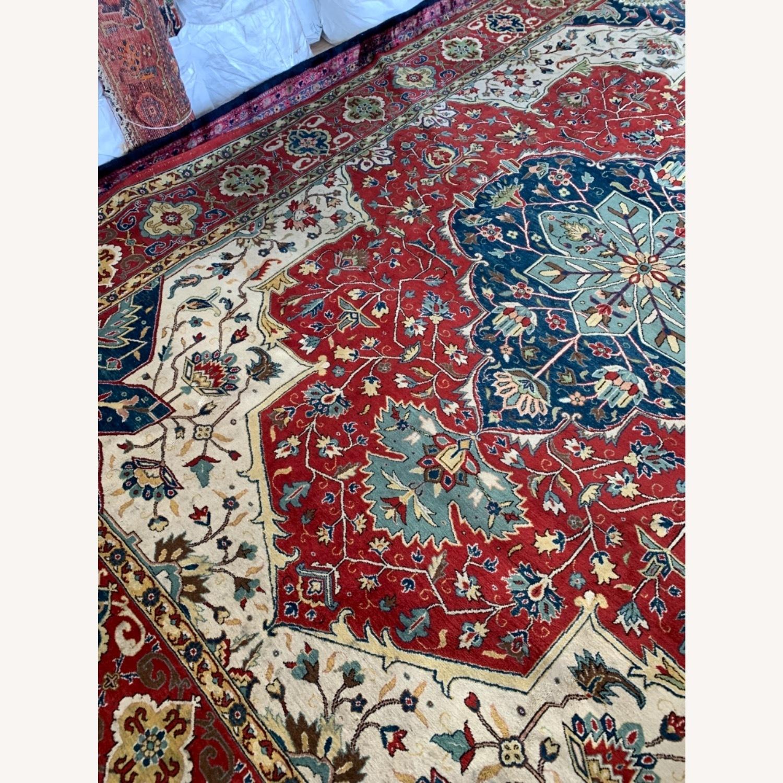 Turkish Heriz Serapi 10x13 - image-7