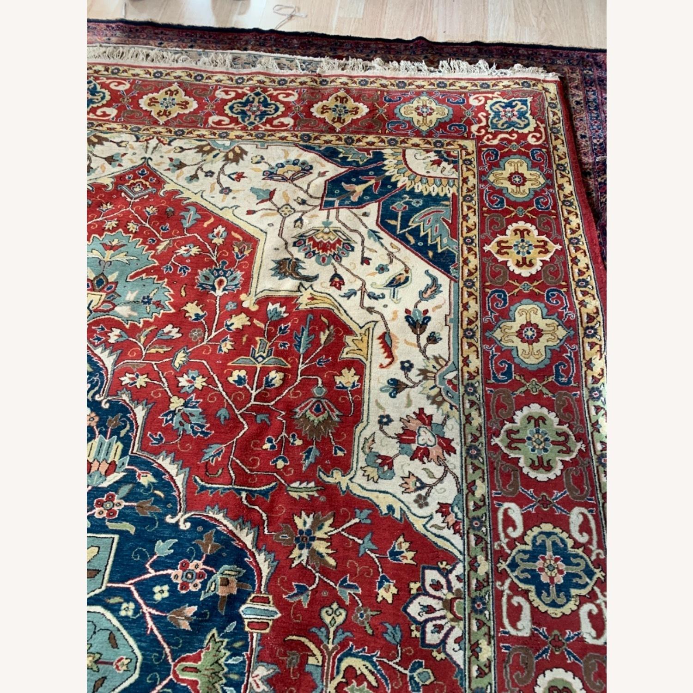Turkish Heriz Serapi 10x13 - image-11
