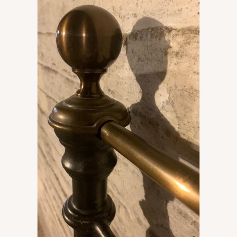 Charles P. Rogers Brass Iron Newfield Headboard - image-2