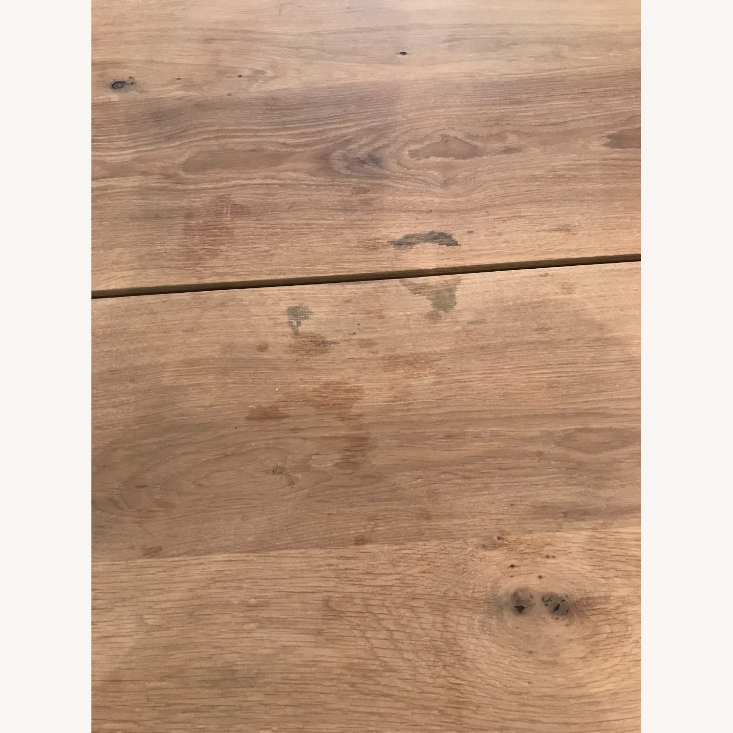 Anthropologie Oak and Brass Live Edge Dining Table - image-5