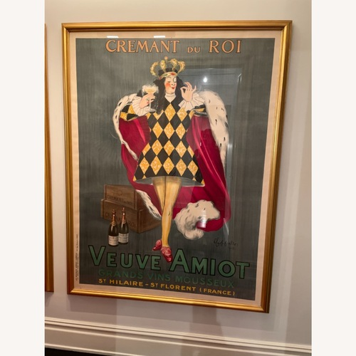 Used Vintage L Cappiello Framed Poster for sale on AptDeco
