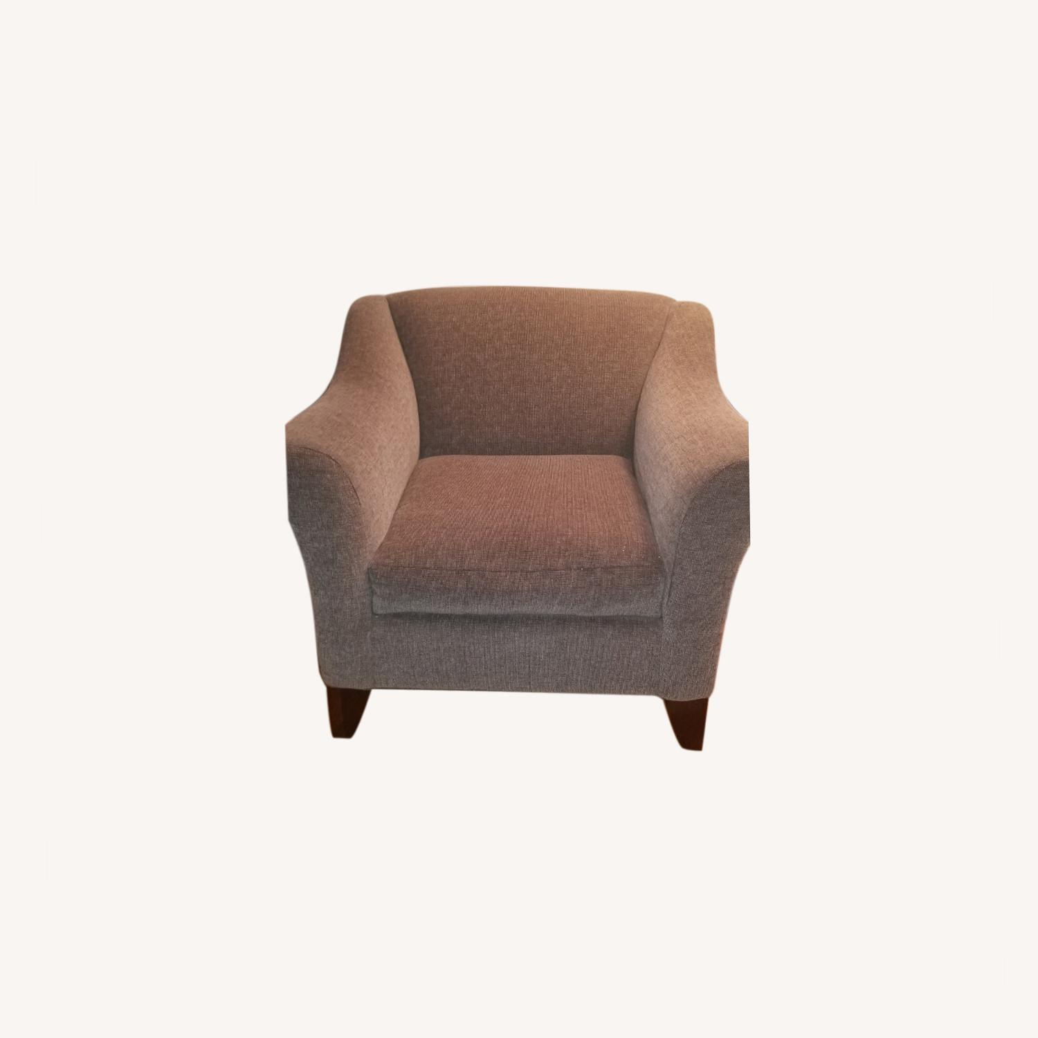Raymour and Flanigan Green Armchair - image-0
