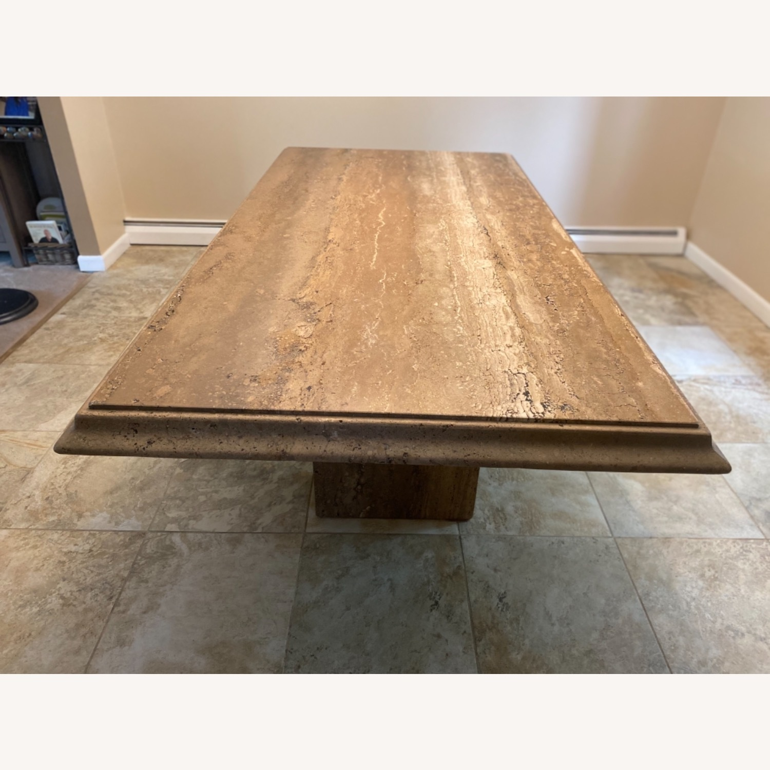 Natural Stone Dining Table - image-1