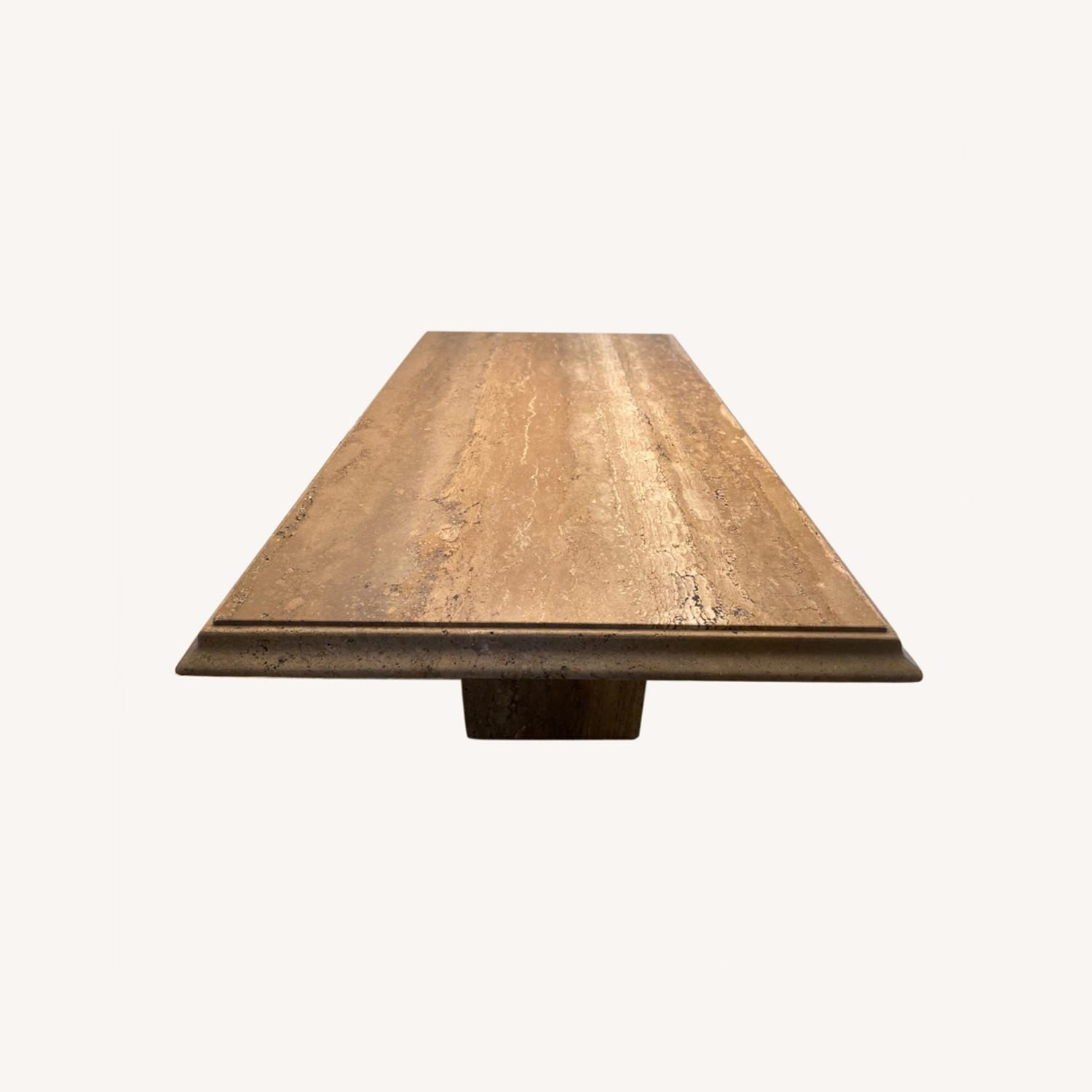 Natural Stone Dining Table - image-0