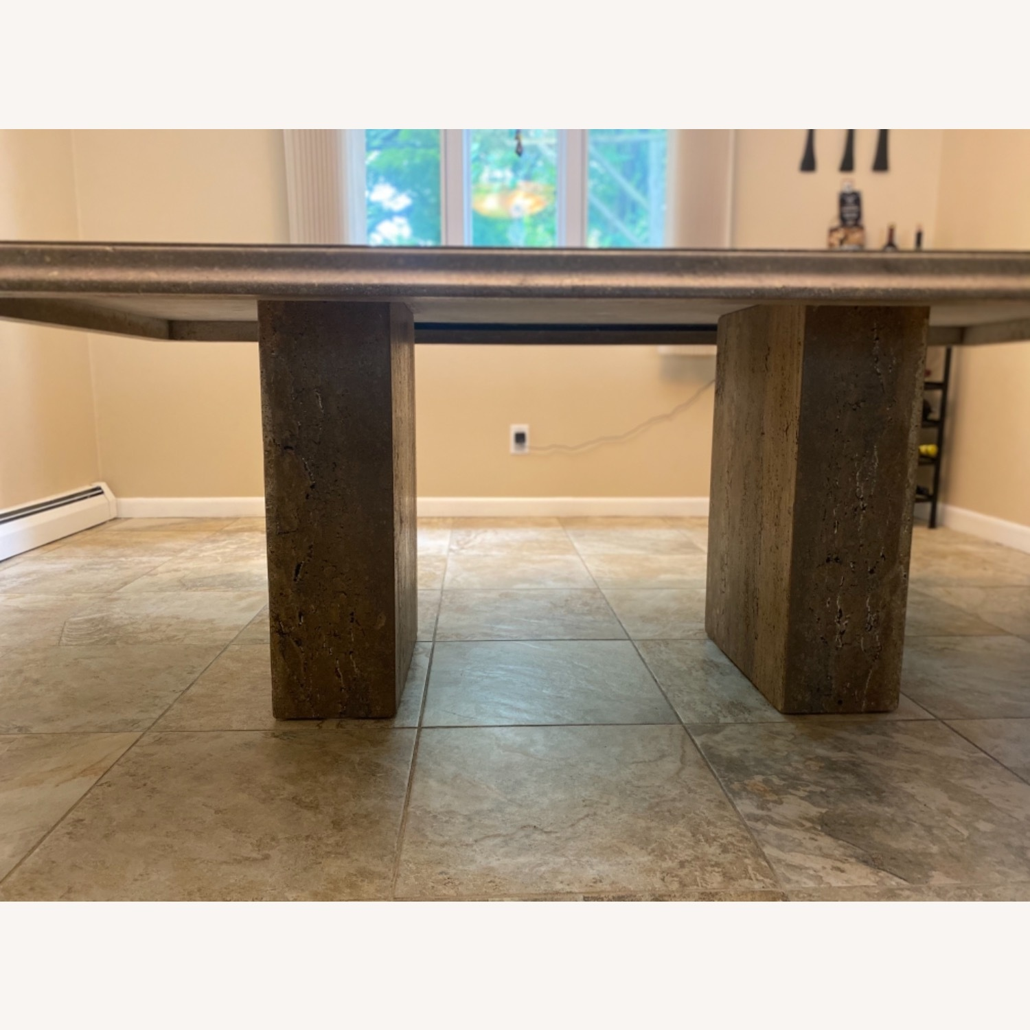 Natural Stone Dining Table - image-3