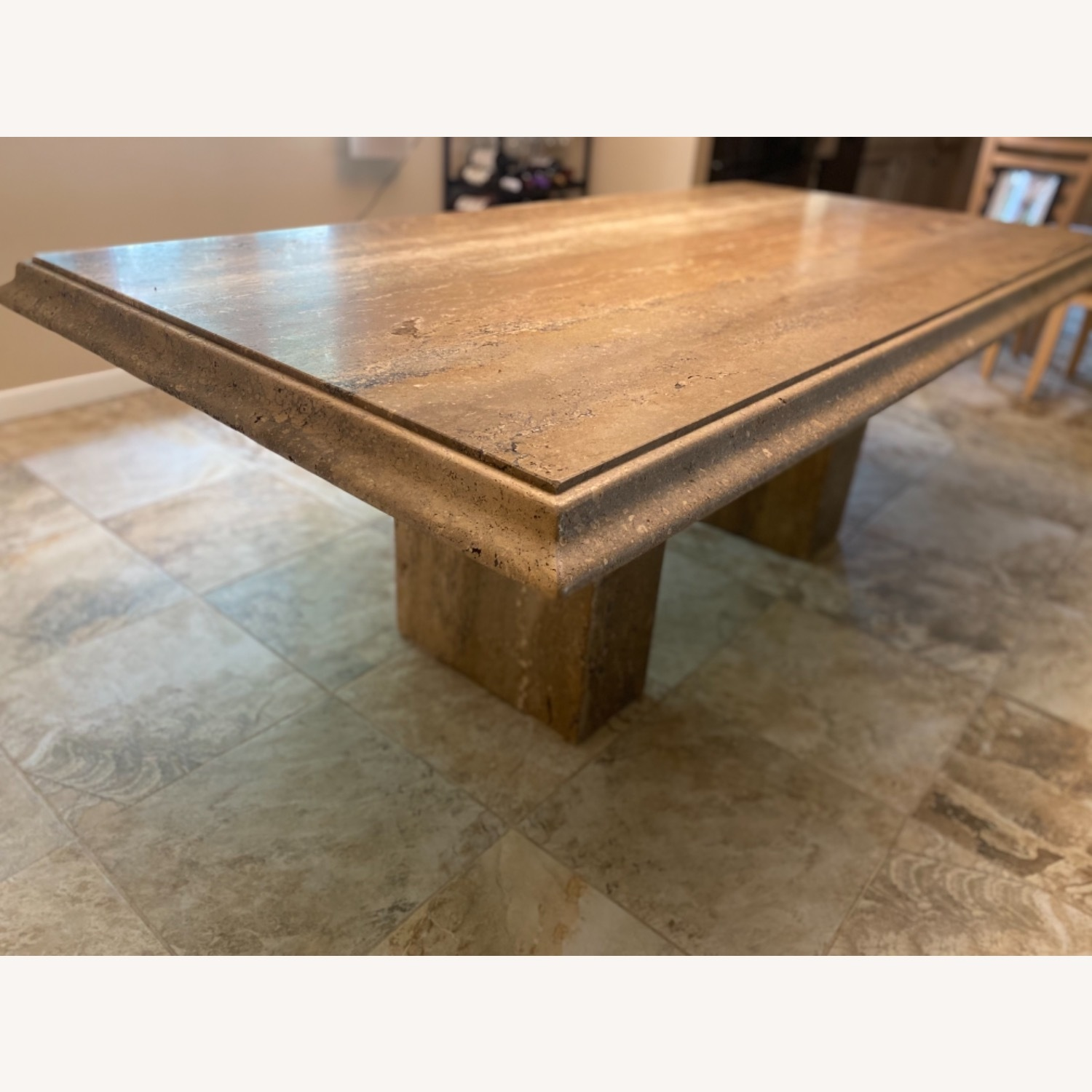 Natural Stone Dining Table - image-2