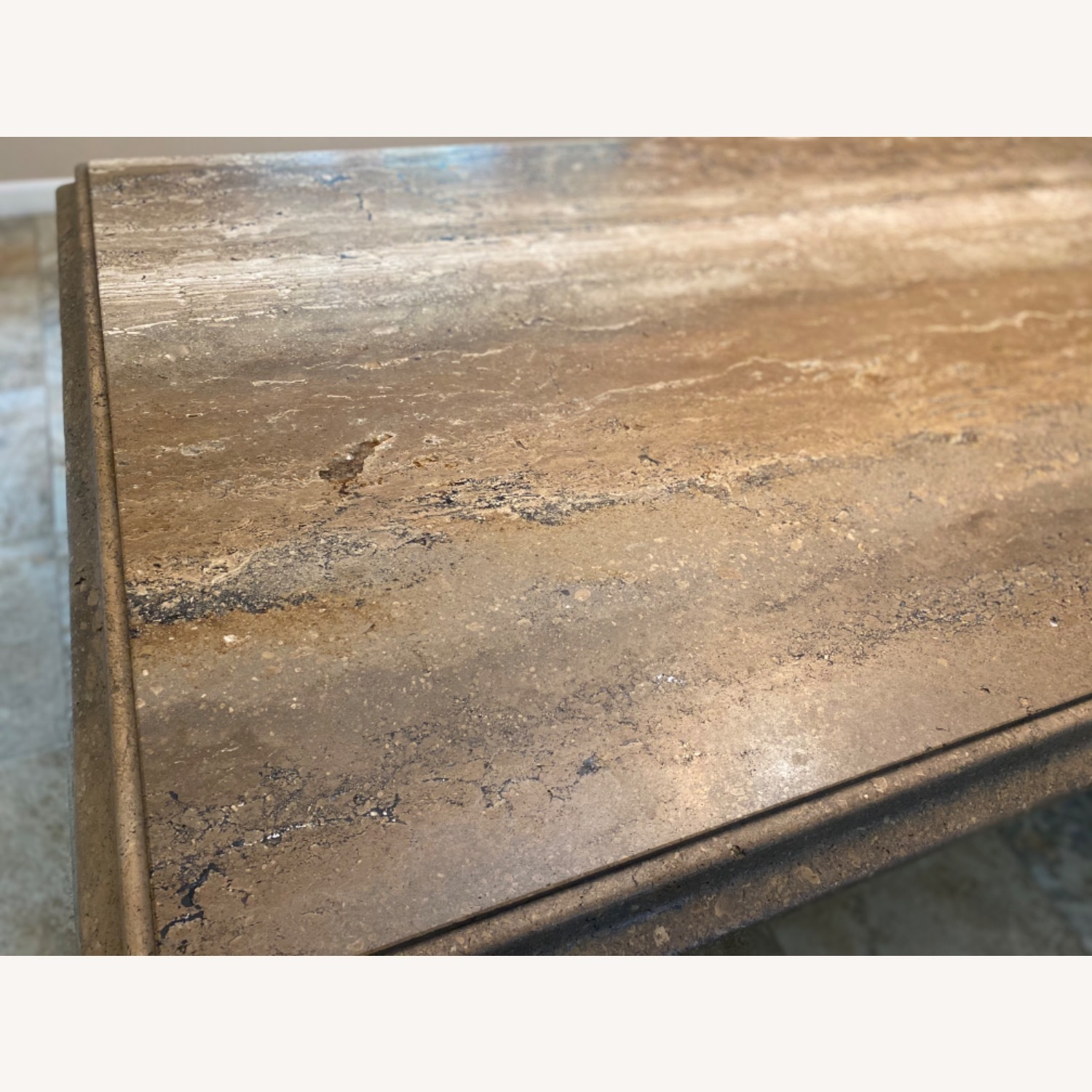 Natural Stone Dining Table - image-6