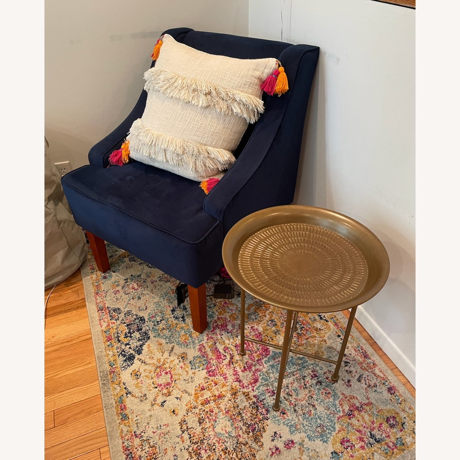 Gold Side Table - image-2
