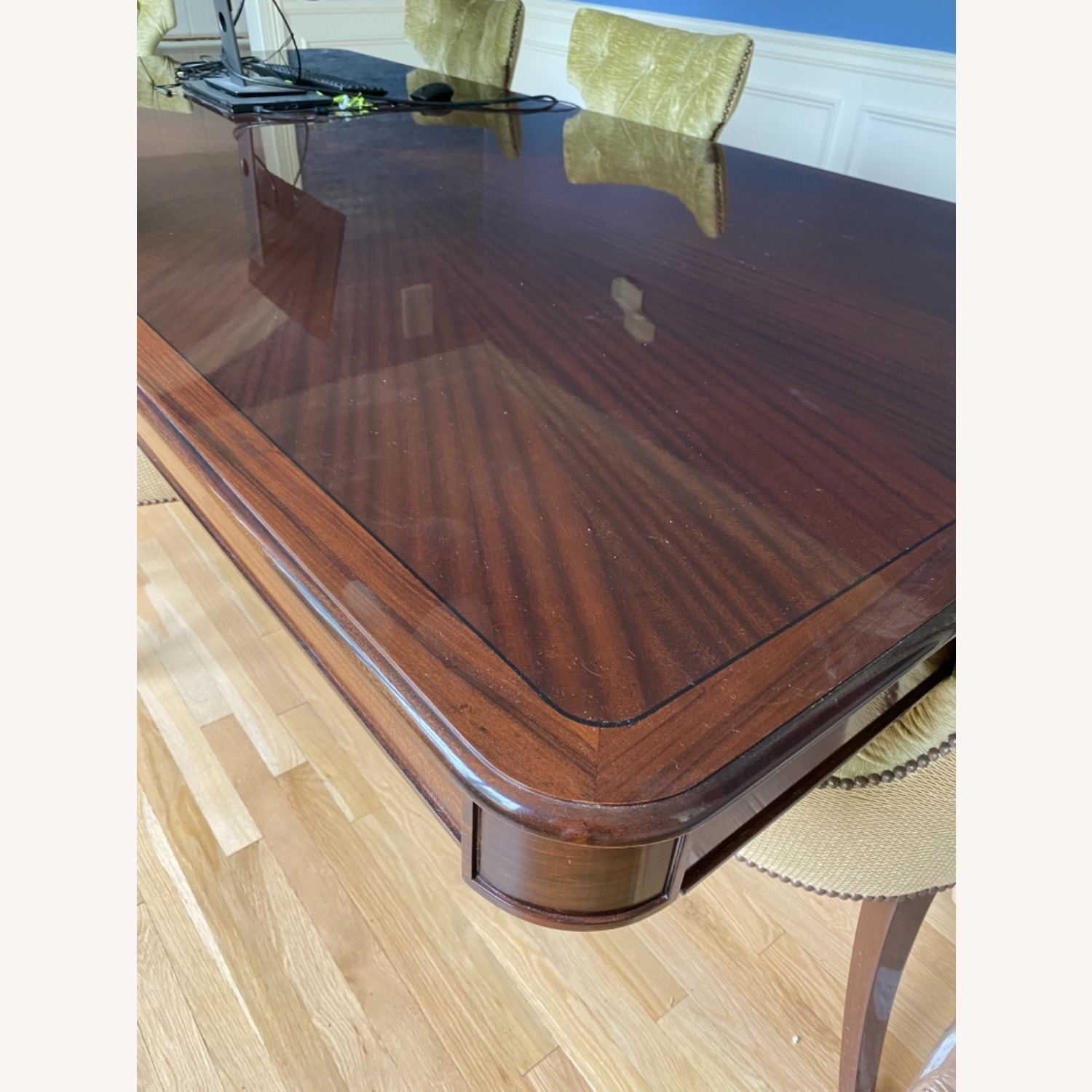 Custom Dining Table w/8 Chairs - image-8