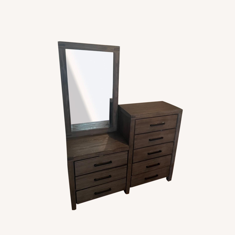 Dresser and Mirror - image-0
