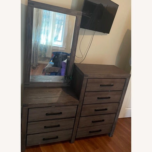 Used Dresser and Mirror for sale on AptDeco