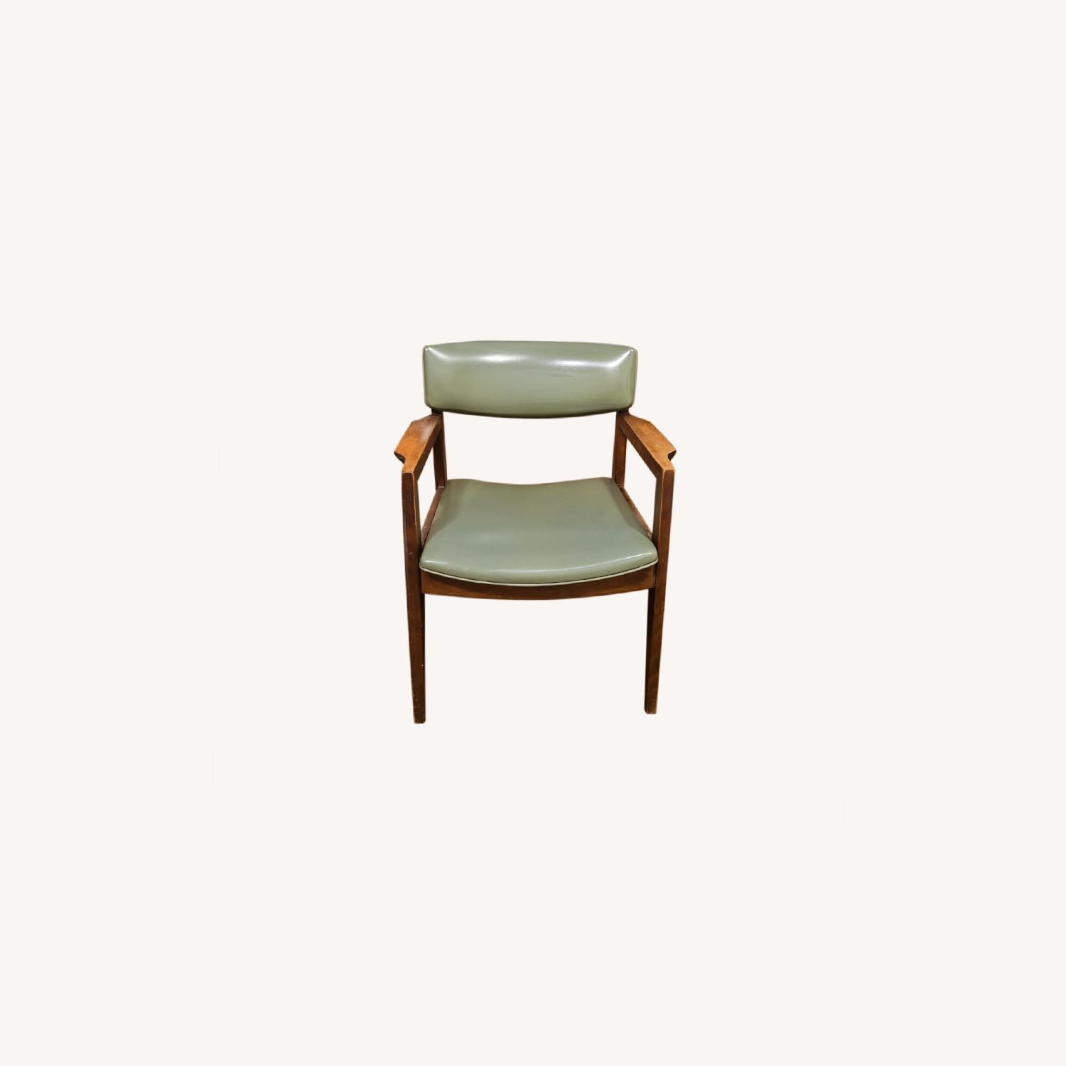 Vintage Green Chair - image-0
