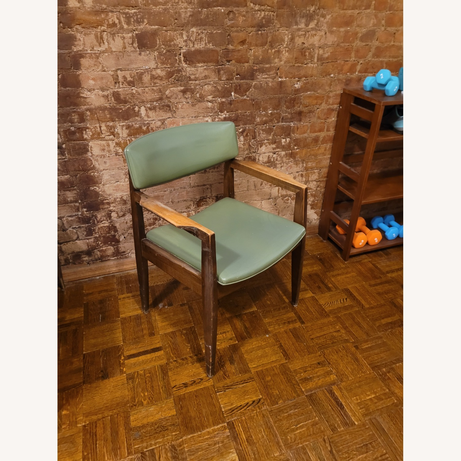 Vintage Green Chair - image-3