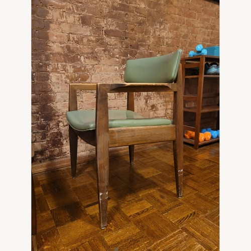 Used Vintage Green Chair for sale on AptDeco