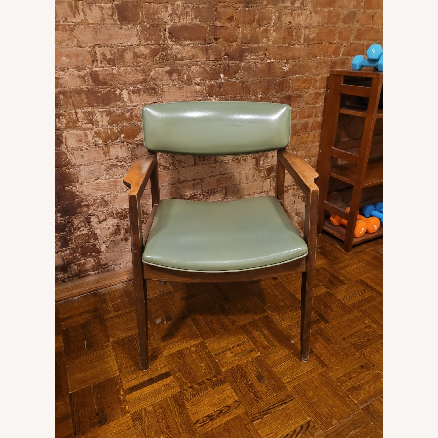 Vintage Green Chair - image-1