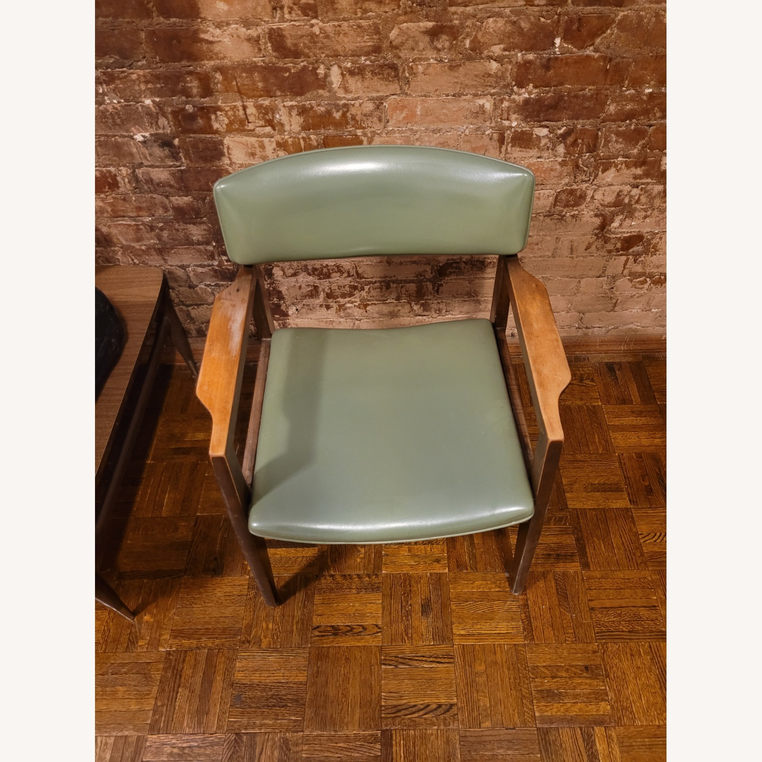 Vintage Green Chair - image-4